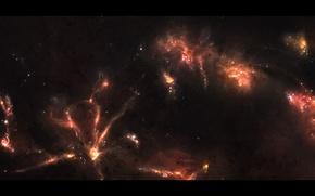 Picture stars, nebula, space, glow, constellation