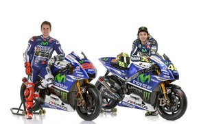 Picture motogp, Valentino Rossi, Jorge Lorenzo, 2014 yamaha