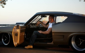 Picture VIN Diesel, Vin Diesel, Dominic Toretto, Fast & Furious 7, Fast and furious 7
