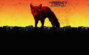 Wallpaper Fox, Music, Album, The Prodigy, The Day Is My Enemy