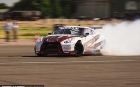 Wallpaper Nissan, speedhunters, NISMO-GT, The World's Fastest Drift Car, drift.skid, track