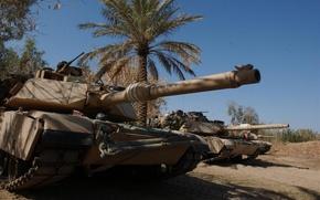 Wallpaper abrams, usa, tank, military equipment, Palma