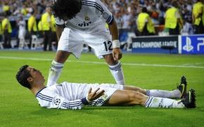 Picture CR7, Real Madrid, Real Madrid, Marcelo, C.Ronaldo, CriRo, 2012-13