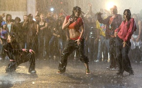 Picture Girls, Night, Rain, Movement, Dance, Wallpaper, Movie, Grace, The film, Lights, Night, Wallpapers, Rain, Dance, …