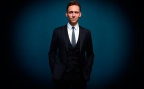 Picture background, actor, Tom Hiddleston