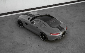 Picture Mercedes-Benz, AMG, Wheelsandmore, Grey, View, Rear, Tuned, Top, 600HP
