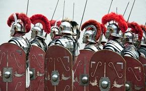 Picture armor, Rome, soldiers, Legionnaires
