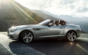 Picture Roadster, Mountains, Machine, Desktop, Car, 2012, Car, Beautiful, Bmw, Wallpapers, New, Beautiful, BMW, Zagato, Zagato, …