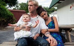 Picture child, Eva Mendes, Thriller, drama, crime, Ryan Gosling, Ryan Gosling, The Place Beyond the Pines, …