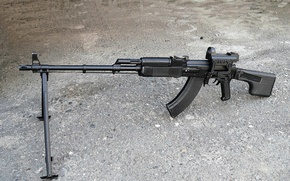 Picture conducted a revision of RPK-74, adhering to the principle of unification, RPK-74M.In 1993, after creating …