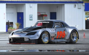 Wallpaper Honda, S2000, Tuning, Future, Silver, Reflection, Dragster, by Khyzyl Saleem