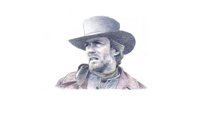 Picture look, face, Clint Eastwood, Clint Eastwood