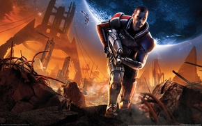 Picture weapons, The ruins, mass effect 2