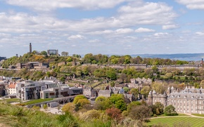 Picture home, Scotland, panorama, Edinburgh