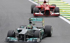 Picture race, formula 1, Ferrari, Motorsport, Mercedes AMG Petronas