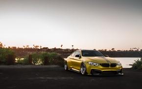 Picture BMW, Vorsteiner, yellow