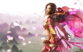 Wallpaper fairy, magic, girl