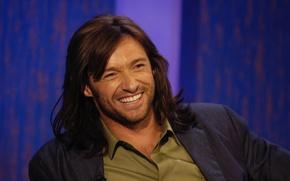 Picture fun, laughter, actor, male, Hugh Jackman, hugh jackman