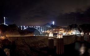 Picture lights, dam, dam