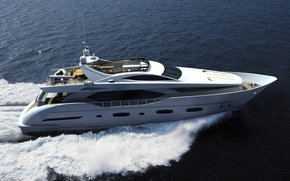 Picture sea, yacht, Suite, Electra, running, superyacht