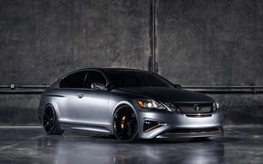 Wallpaper Grey, Lexus, GS450