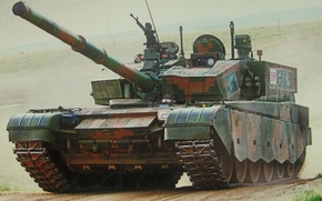 Picture tank, chinese, type 99a