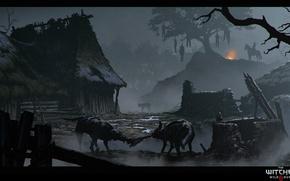 Picture the witcher, the Witcher, the witcher 3 wild hunt, Velen