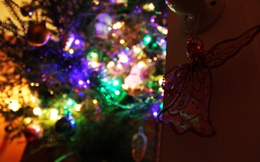 Picture christmas, new year, christmas tree