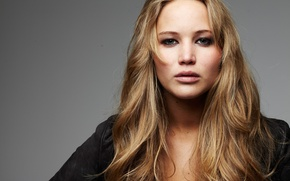 Picture look, background, portrait, actress, jacket, hairstyle, photographer, Jennifer Lawrence, Jennifer Lawrence, Matt Holyoak