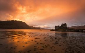 Picture Sunset, Scotland, Kyle of Lochalsh