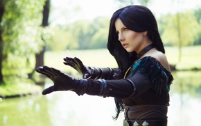 Picture The Wild Hunt, cosplay, cosplay, The Witcher 3, The Witcher 3, Wild Hunt, Yennefer, Yennifer