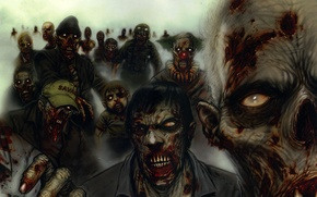 Picture Figure, monsters, zombies