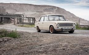 Picture penny, car, sedan, Lada, Lada, 2101, VAZ, Vaz