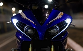Picture Yamaha, Blue