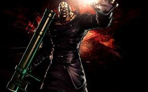 Picture Resident Evil, 1920x1080, Capcom, Nemesis, Resident Evil 3