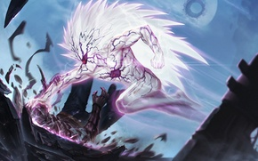 Picture anime, art, cabalfan, One Punch Man, lord boros