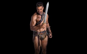 Picture background, Spartacus, Blood and Sand, Gladiator, TV series, historical, Spartacus, Manu Bennett, Blood and sand, ...