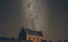 Picture stars, Church, The Milky Way, secrets