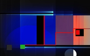 Picture abstraction, background, color, form