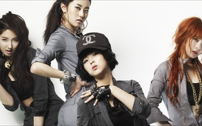 Picture music, Girls, people, faces, 4Minute, K-pop