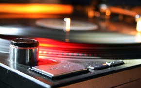Wallpaper turntables, music