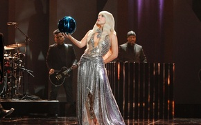 Picture girl, music, ball, music, actress, concert, show, singer, celebrity, live, Lady Gaga, Lady Gaga, show, …