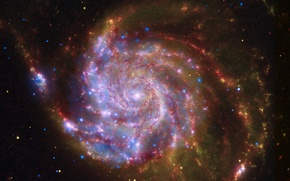Picture power, stars, messier 101 or ngc 5457 galaxia