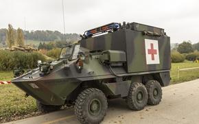 Picture car, Ambulance, Mowag Piranha, Sanitary