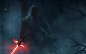 Picture Star Wars, Star wars, cloak, Lightsaber, The Force Awakens, Star Wars: The Force Awakens, The …