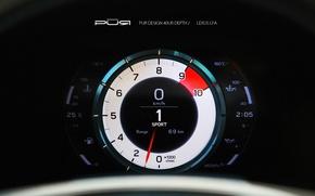 Picture Lexus, speedometer, Lexus, LFA, LF-A, Project Reignfire