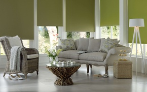 Picture comfort, interior, living room