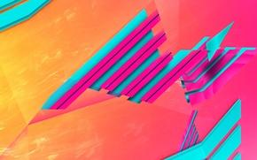 Wallpaper color, layer, the volume, light, strip, line
