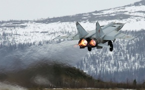 Picture the plane, the rise, scout, Mig-25RB, the MiG-25RB