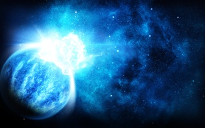 Picture space, photoshop, planet, space